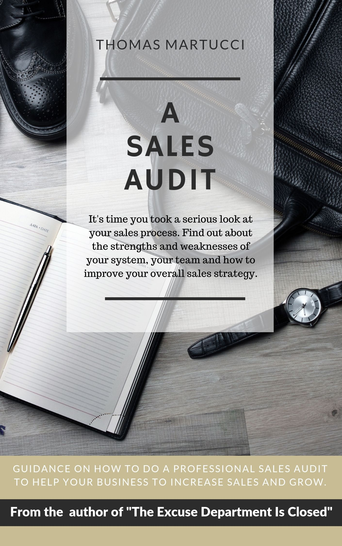 It's time you took a serious look at your sales process. Find out about the strengths and weaknesses of your system, your team and how to improve your overall sales strategy.This E-book will give you guidance to do a professional sales audit and help your business to increase sales and grow. To receive your ebook, fill in the form below. -
