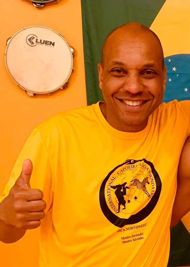 Silvio Dos Reis - Capoeira Instructor and Sacajawea Artist-in-Residence