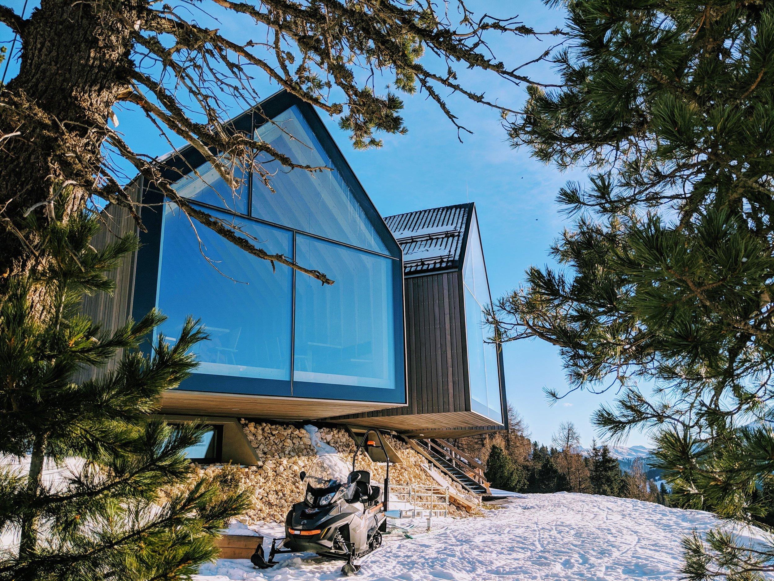 Oberholz hut
