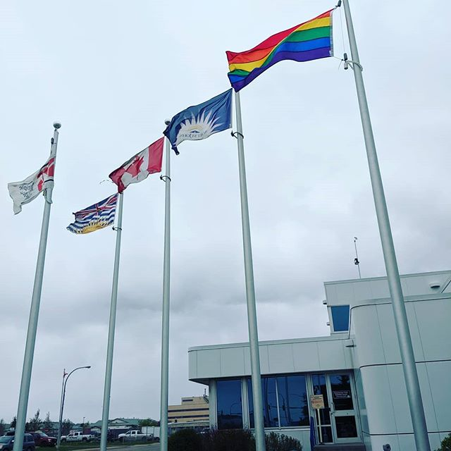 Thank you everyone who attended today's ceremony!  Thank you, so much, for the support.  We can't wait to see everyone on June 1st, 2019! #bcpeacepride #northpeacepride #northpeacepridewalk2019 #northpeacepridesociety #pride🌈 #lgbtq #gay #strongertogether #cityoffortstjohn #fsjpridewalk #fsj #fortstjohn