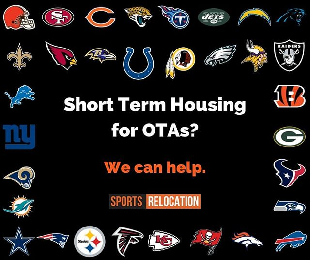 Need help finding short-term housing when you head to OTAs? Get our team to cover your relocation needs as you get set for offseason work. #athleteconciergegroup #sportsrelocation #athleterelocation #sportsandentertainment #nfl #nba #nationwide #conciergeintl #sportsrealtor #athleterealtor #athleterealestate #sportsrealestate #nbarealtor #nflrealtor #otas #shortermhousing #relocationpackage #autotransport