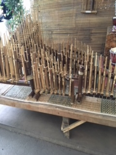 Angklung  - Indonesian traditional instrument made of bamboo