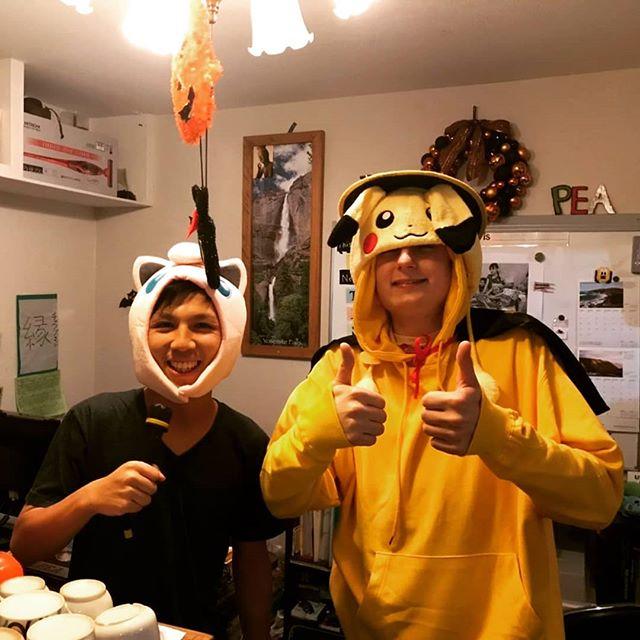 Happy Halloween!  #ハロウィン #高槻英会話 #英会話 #ポケモン #綿菓子