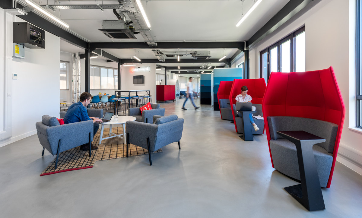 Above: The what3words Office in West London