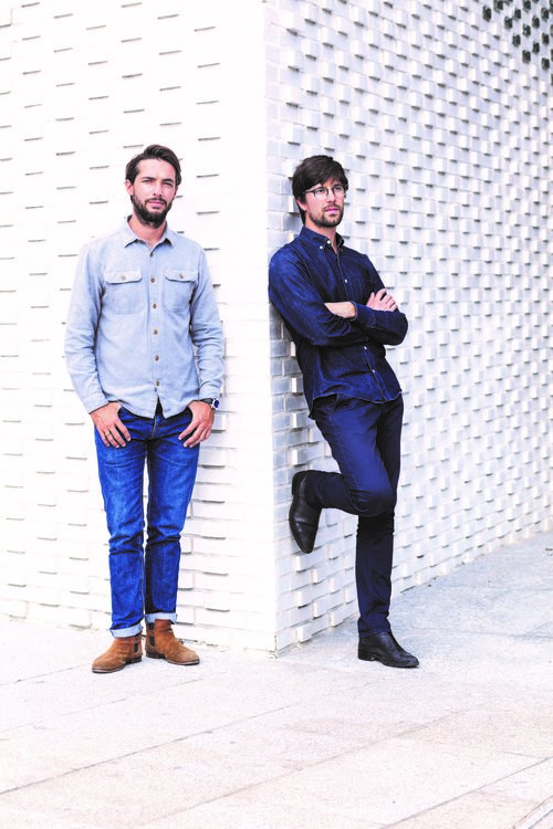 Joran Briand et Arnaud Berthereau