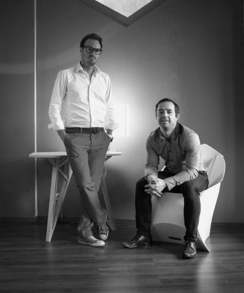 Xavier Daublain and Damien Sanoner