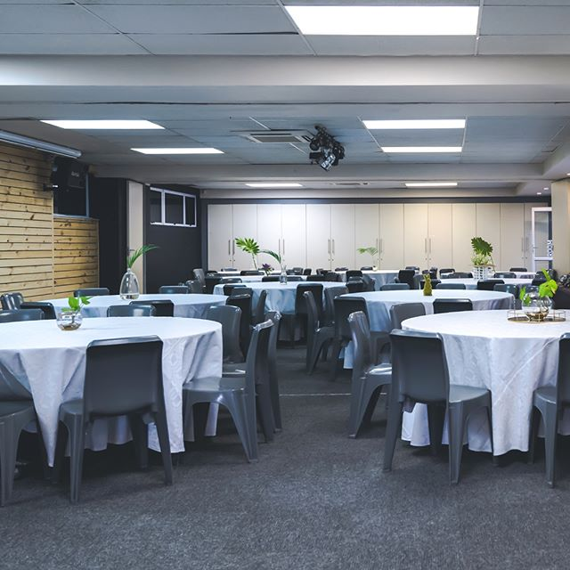 Room 2 offers seating for up to 200 people.  All our breakaway rooms include setup, clean-up, parking and security, audio-visual equipment and seating - configured to best suit your event. Enquire now, link in bio. . . . . #TheStation #TheStationUrbanEventSpace #Room2