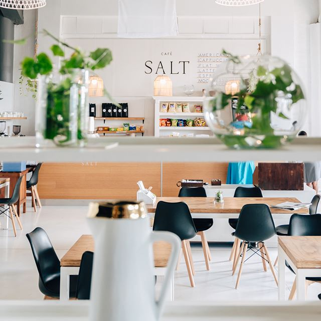 Relax and enjoy a fresh meal and refreshment at onsite Café Salt. . . . . #TheStation #TheStationUrbanEventSpace #CafeSalt
