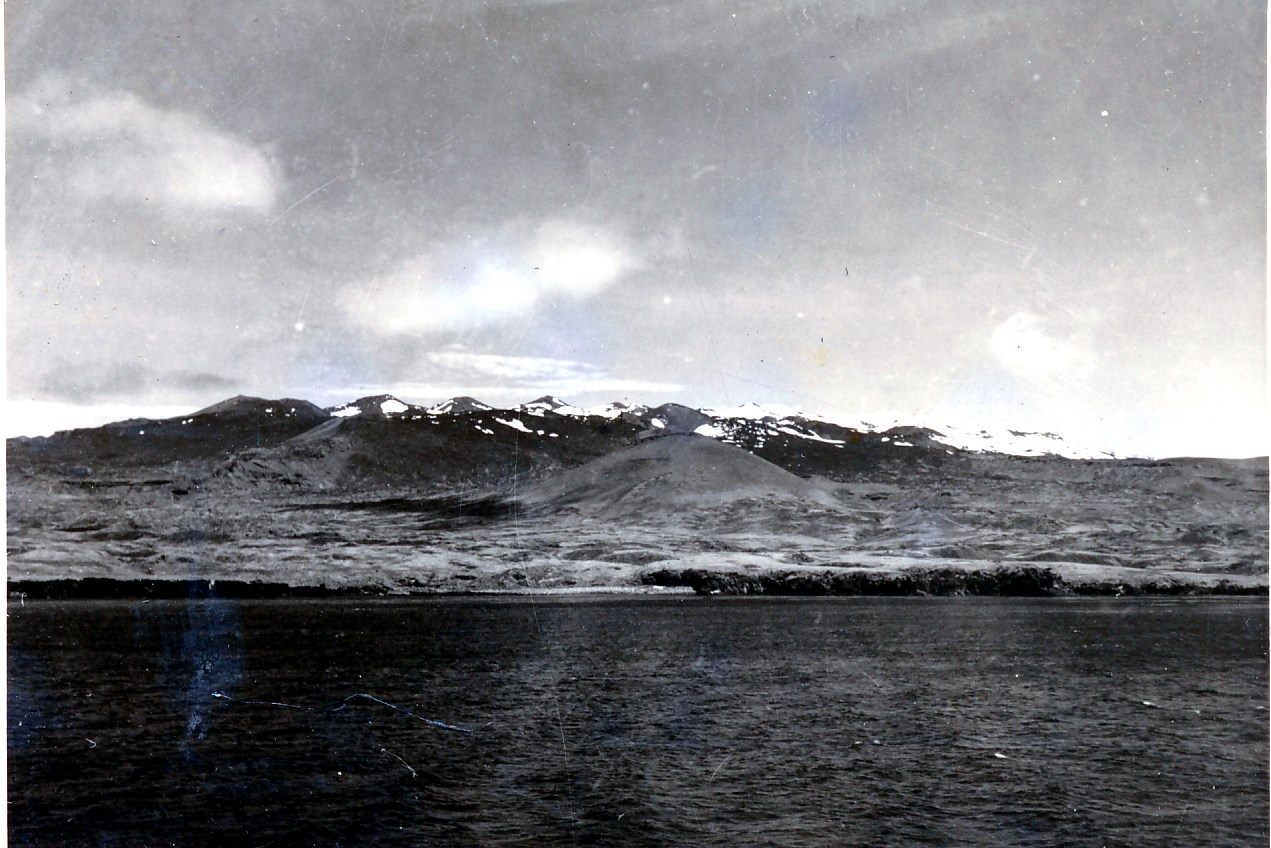 Subantarctic Marion Island at annexation by South Africa, 1947. Photo: David Robert Harrison