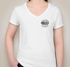 V-neck t-shirt Ladies  option 8