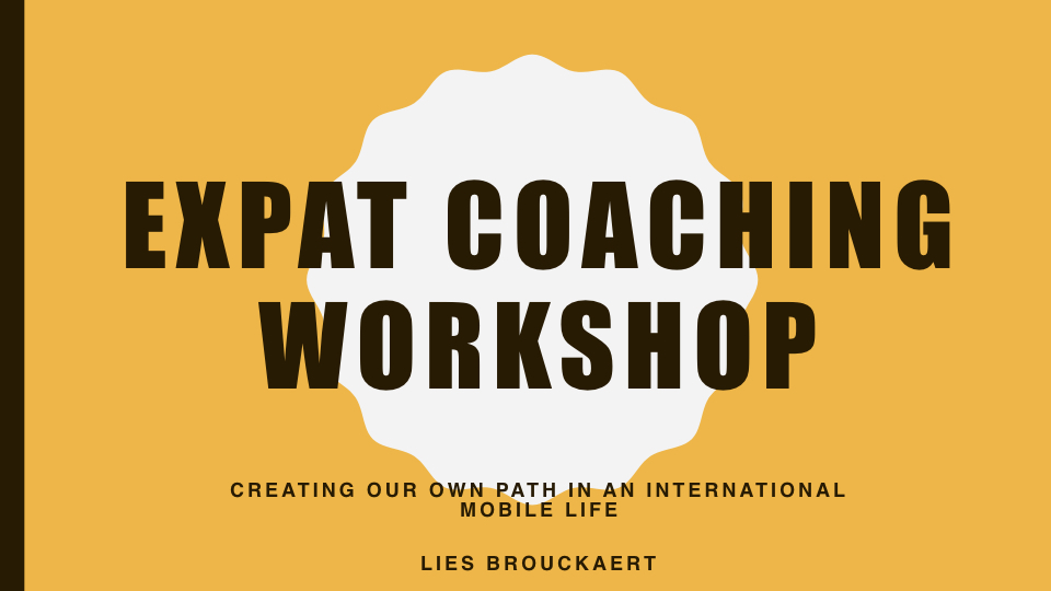 Expat Coaching Workshop