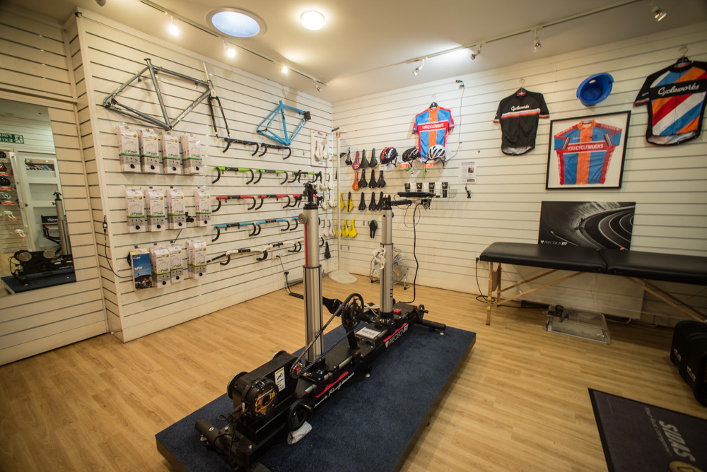 York Cycleworks Bike Fit Studio.