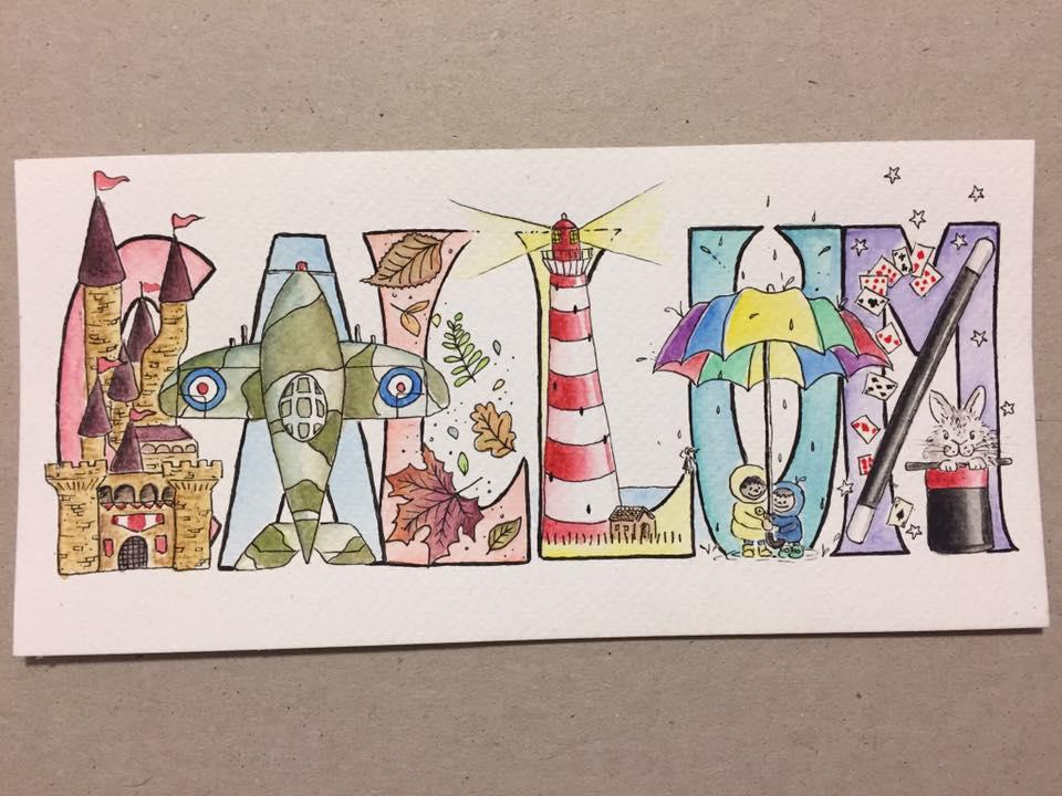 Danni Smith Art - name art Callum.jpg