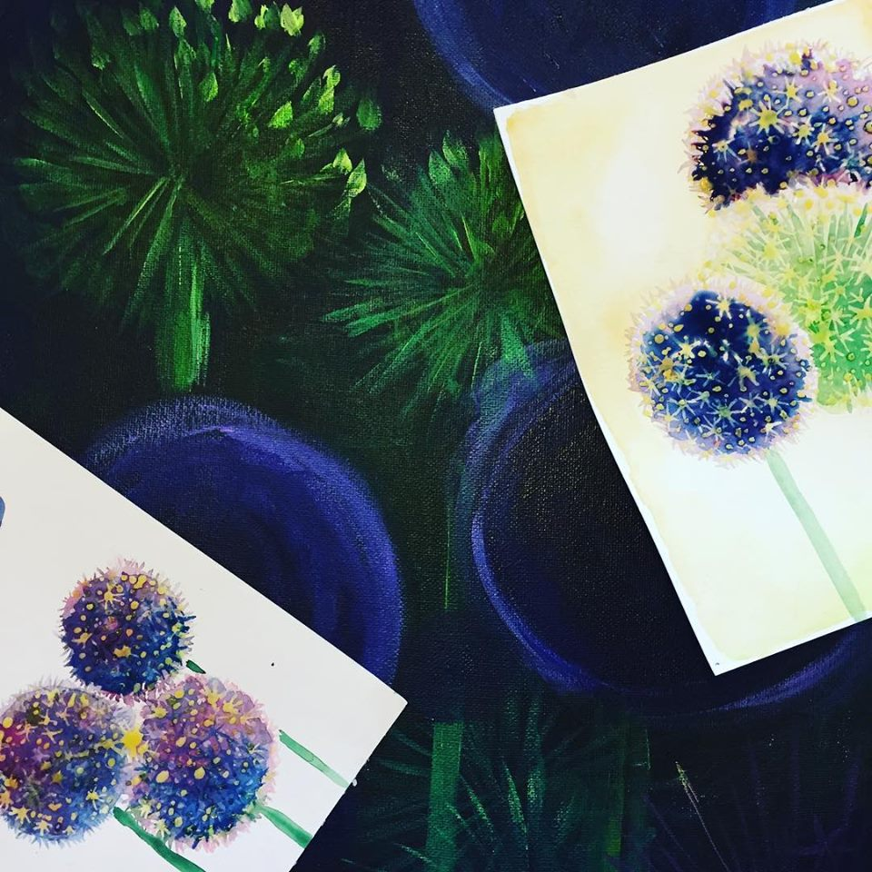 Danni Smith Art - alliums practice.jpg