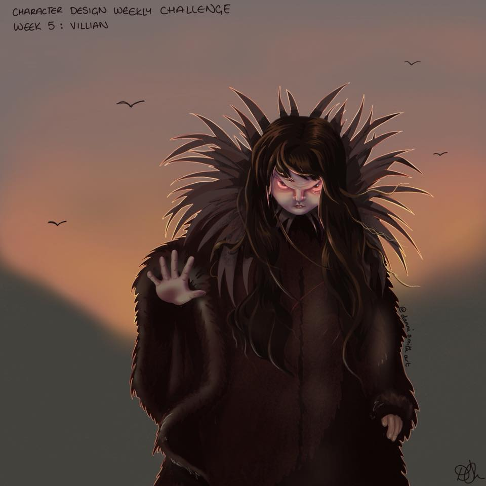 Danni Smith Art - villan red eyes.jpg