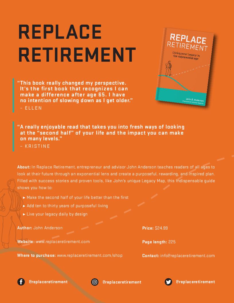 Replace Retirement Book Fact Sheet