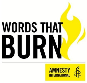 - Words That BurnSummer 2017Jay has contributed one poem to this teaching resource. Published by Amnesty International