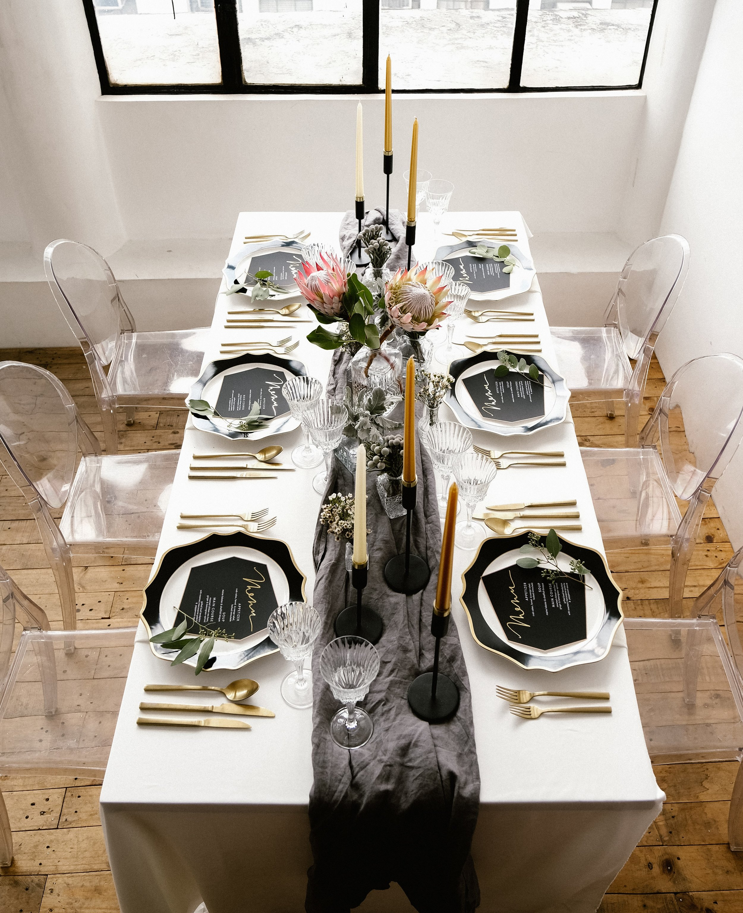 Gray Sage Atlanta Event Design Styled Engagement Dinner