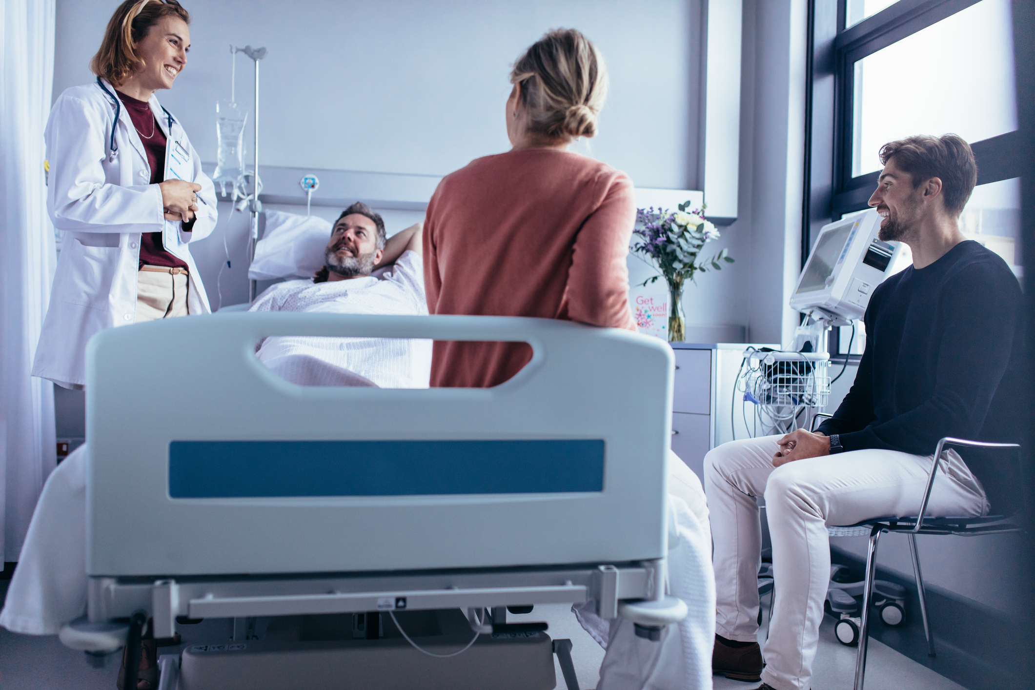 SUPPORTING PATIENTS - Improve patient access to medical services. Meet the wide spectrum of patient care needs. Provide timely access to specialists and ensure the availability of modern equipment and technologies are available.