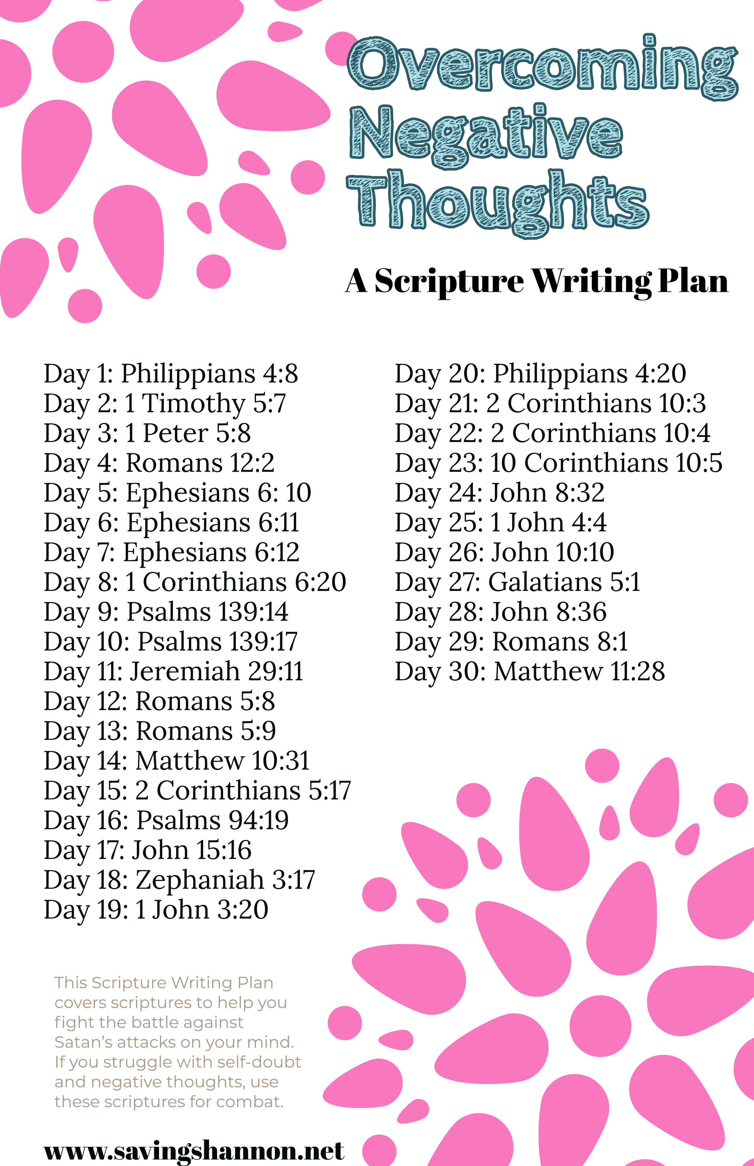 download this scripture writing plan for free
