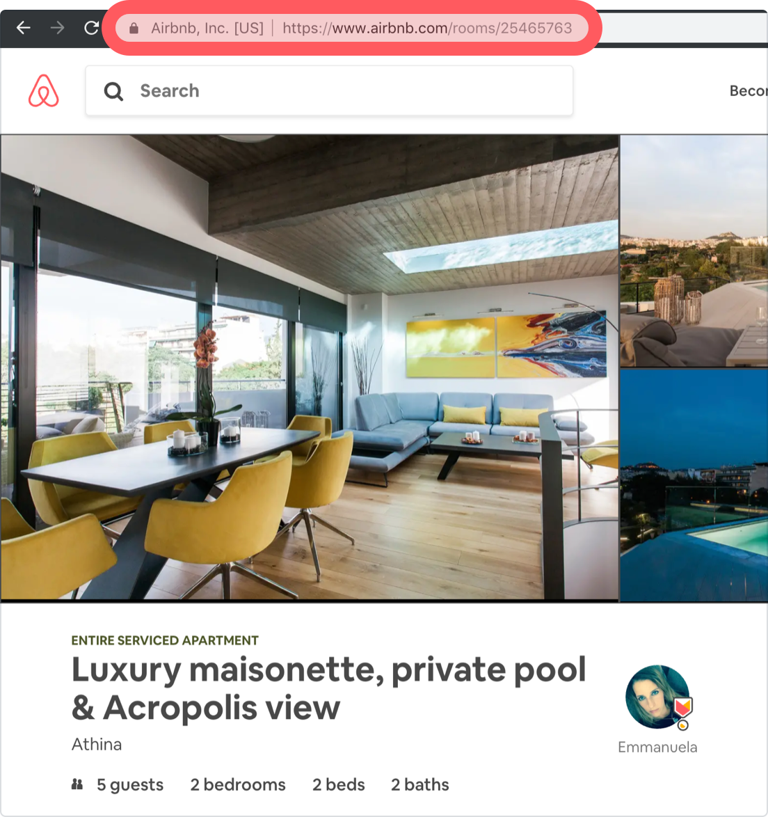 Get insights in 3 easy steps - STEP 1Enter the Airbnb listing URL for each of your properties.STEP 2Choose up to 5 competitive properties that your listings most often compete with for bookings.STEP 3Receive real-time pricing comparisons and insights on new bookings, occupancy rates, and bookings revenue.