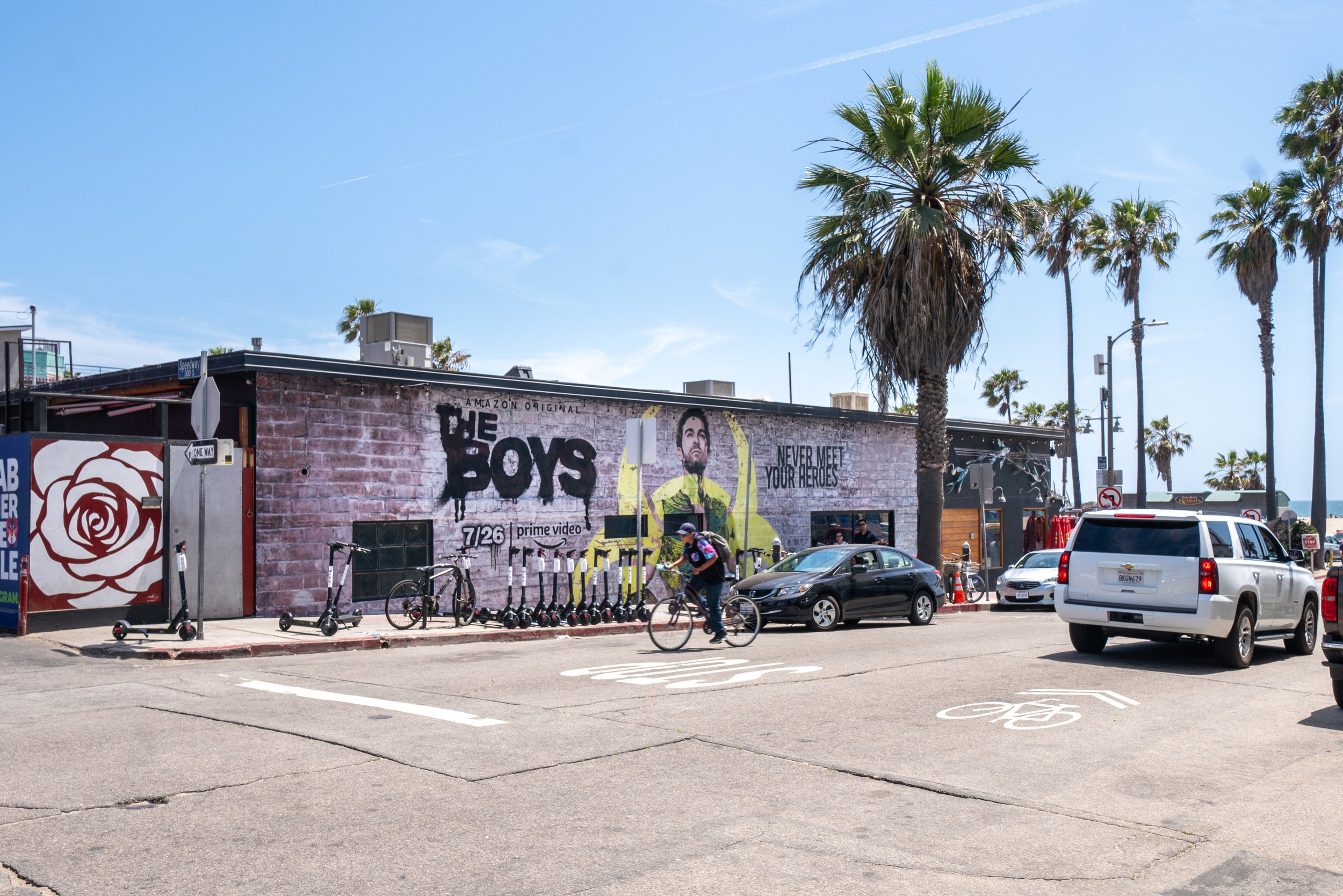 "Amazon's ""The Boys"" - Venice Beach, CA"