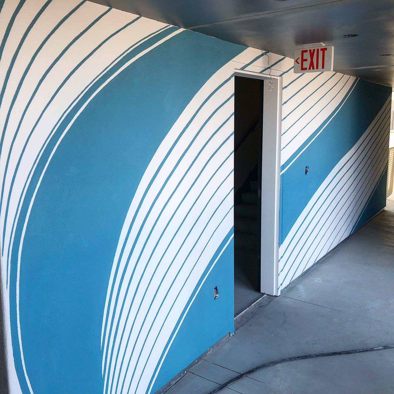 Pool Mural - AVA Hollywood