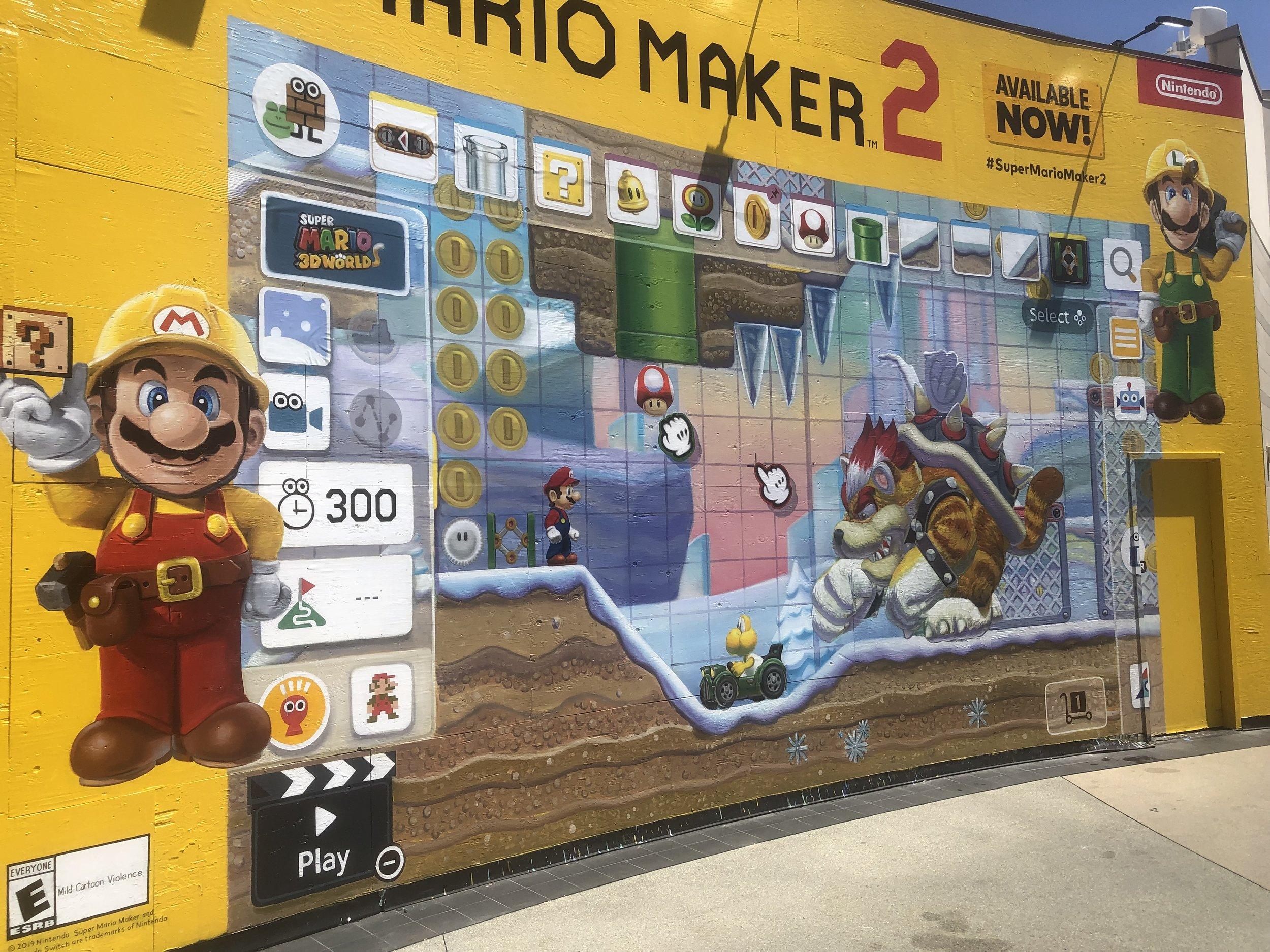 Super Mario Maker 2 - Week 4 @ Santa Monica Place Mall