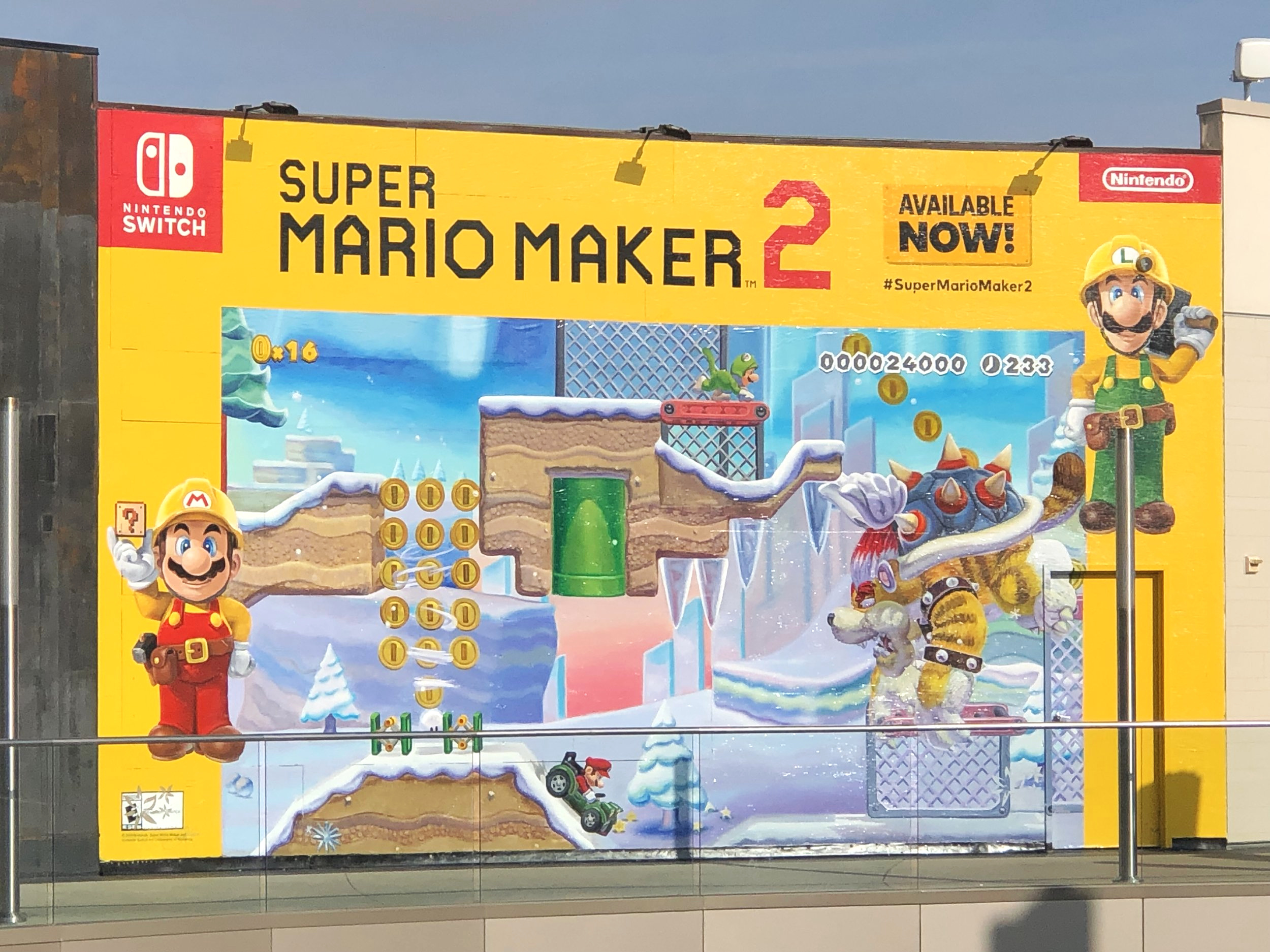 Super Mario Maker 2 - Week 5 @ Santa Monica Place Mall