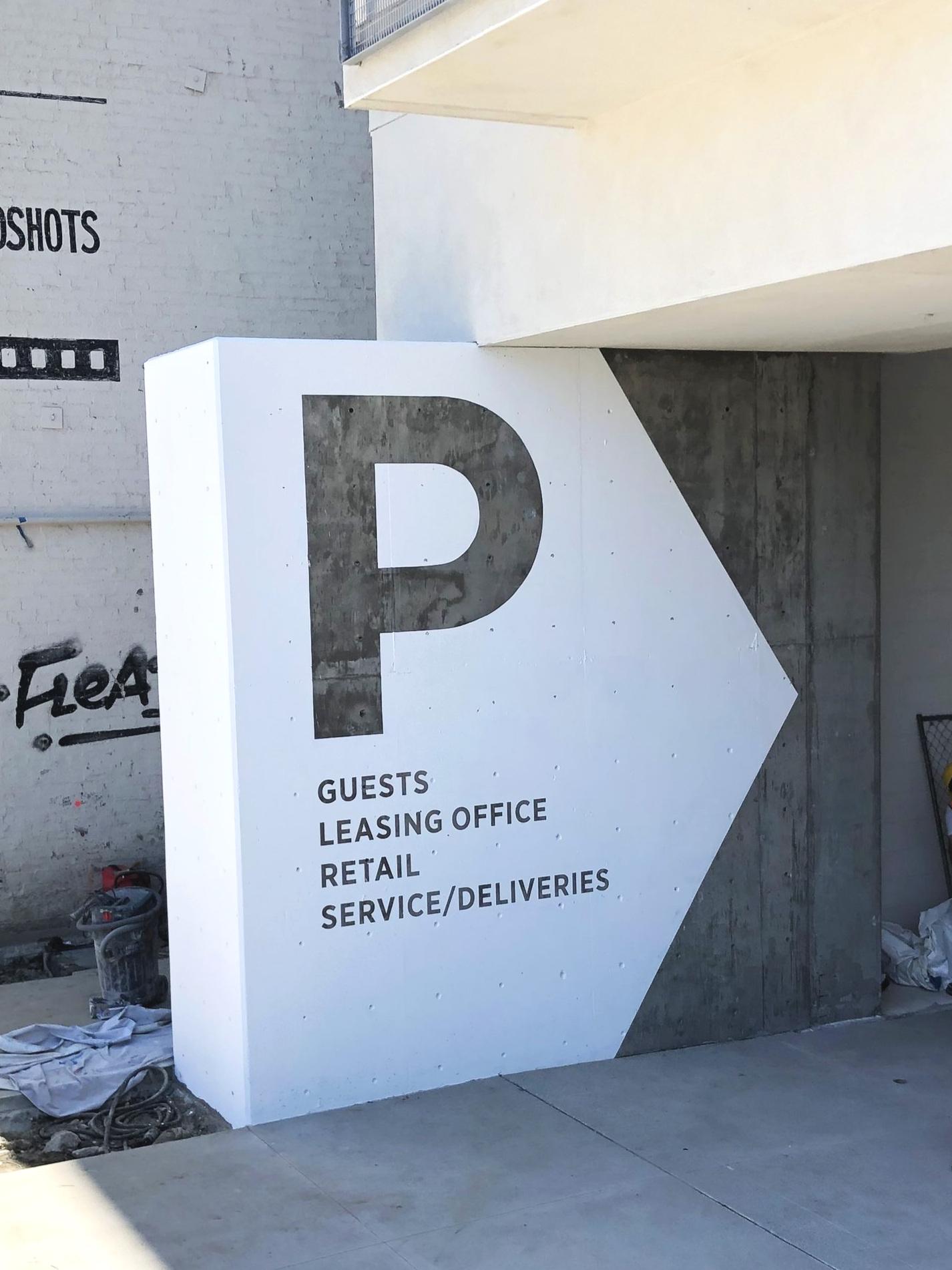 Vehicular Signage - AVA Hollywood