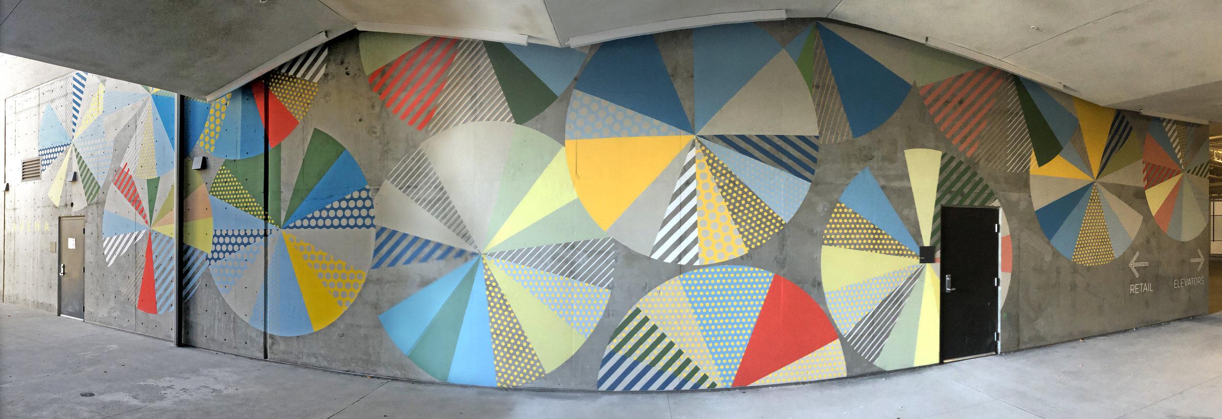 AVA Pinwheel Mural