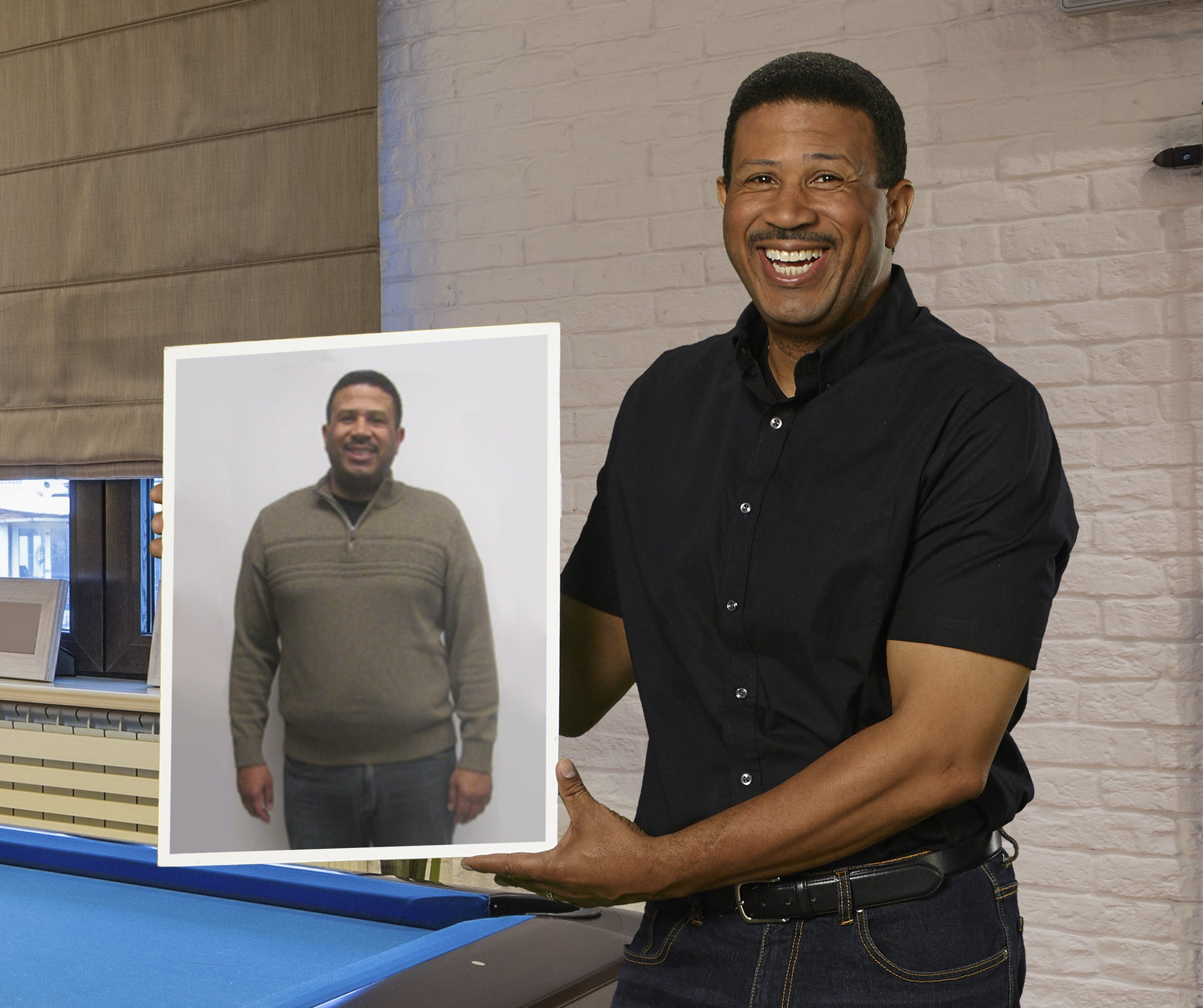 Maurice M. - lost 54 lbs. in 17 weeks at MWLC Farmington Hills*