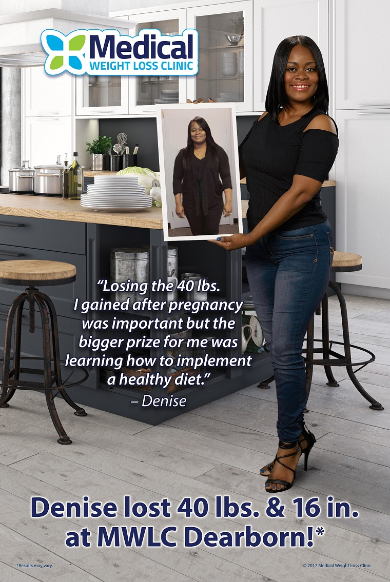 Ask Denise Williams how a healthy change to her diet has impacted her life.