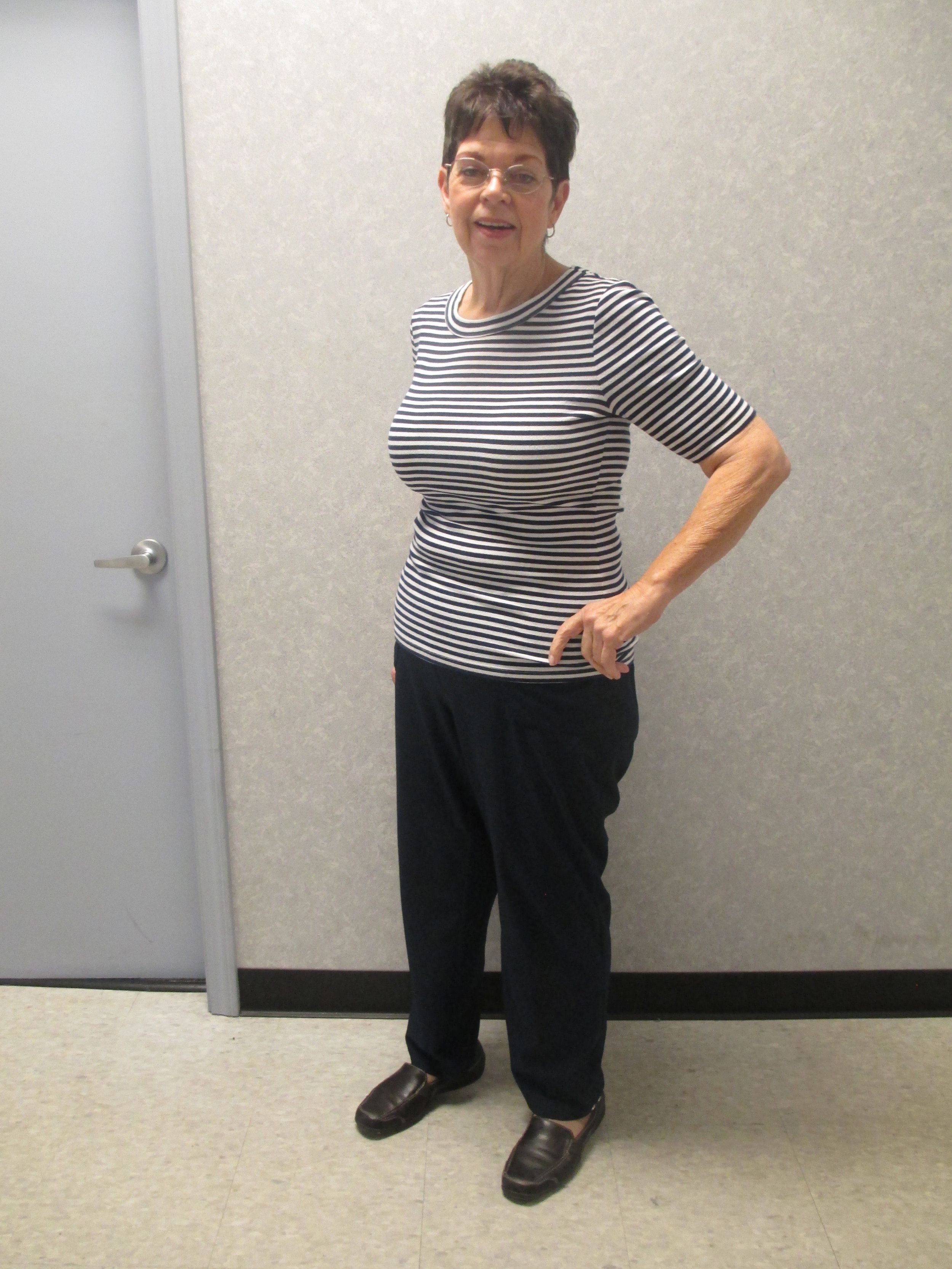 Judy Patterson is celebrating her health thanks to Medical Weight Loss Clinic.