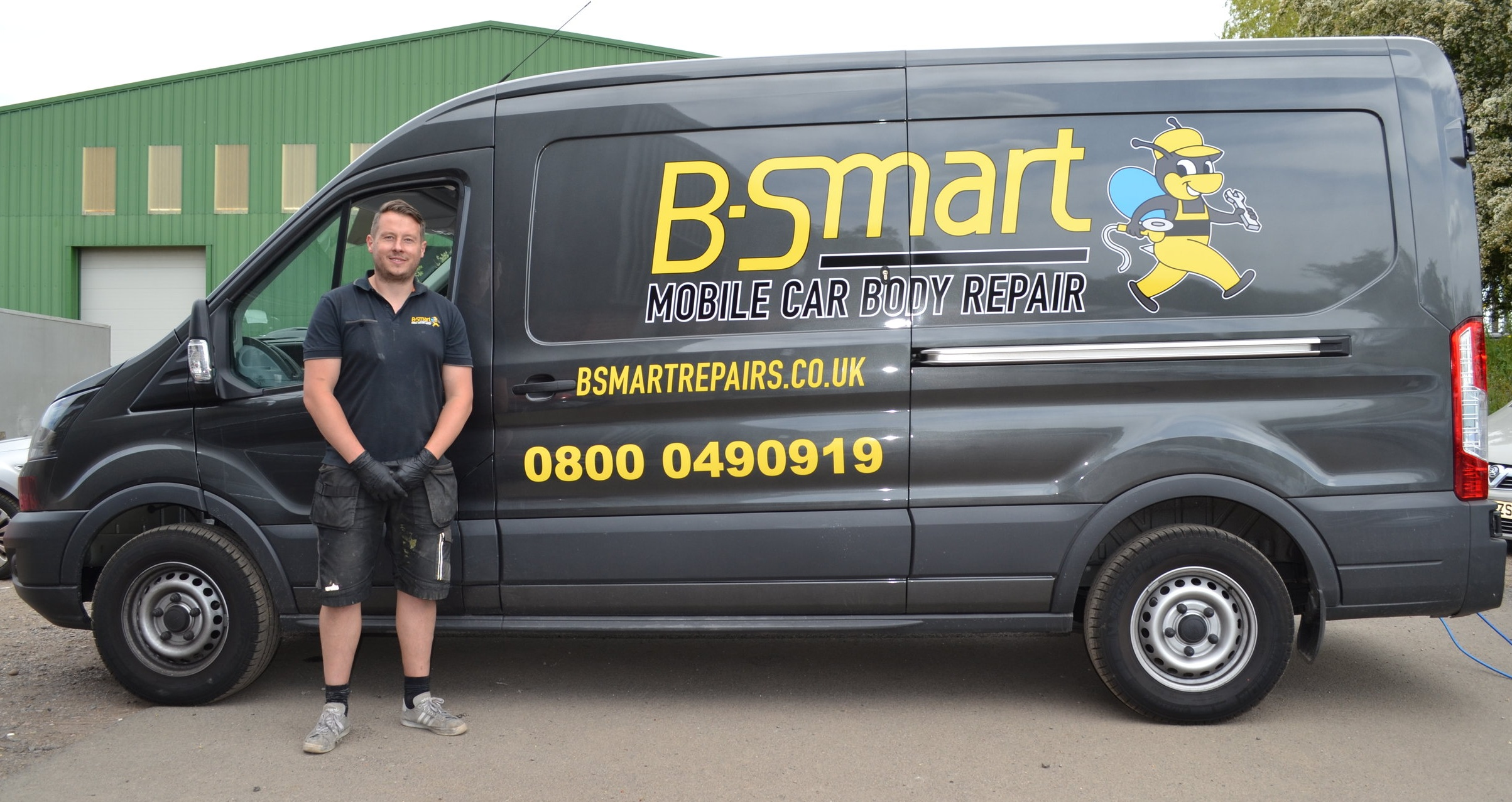 B-Smart Vehicle Repair - Our new mobile service has launched - repairing dents, scuffs, scratches and alloy wheels whilst you wait.