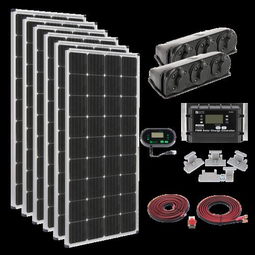 1,020-Watt Deluxe Kit - PART NUMBER: KIT1014