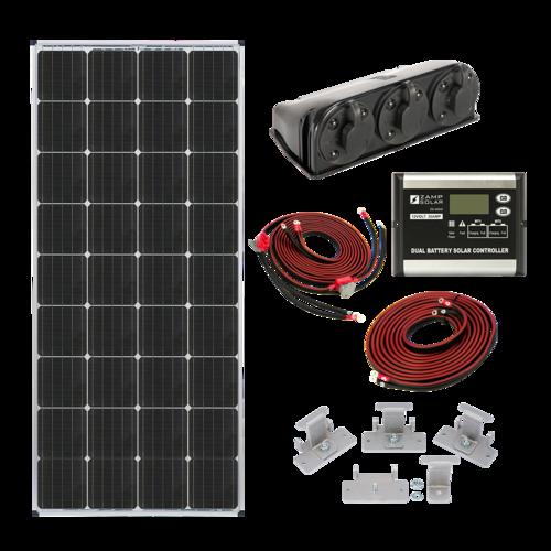 170-Watt Dual Battery Bank Kit - PART NUMBER: KIT2015