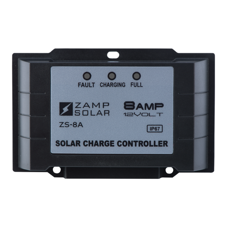 8-Amp 5-Stage PWM Charge Controller - PART NUMBER: ZS-8AW