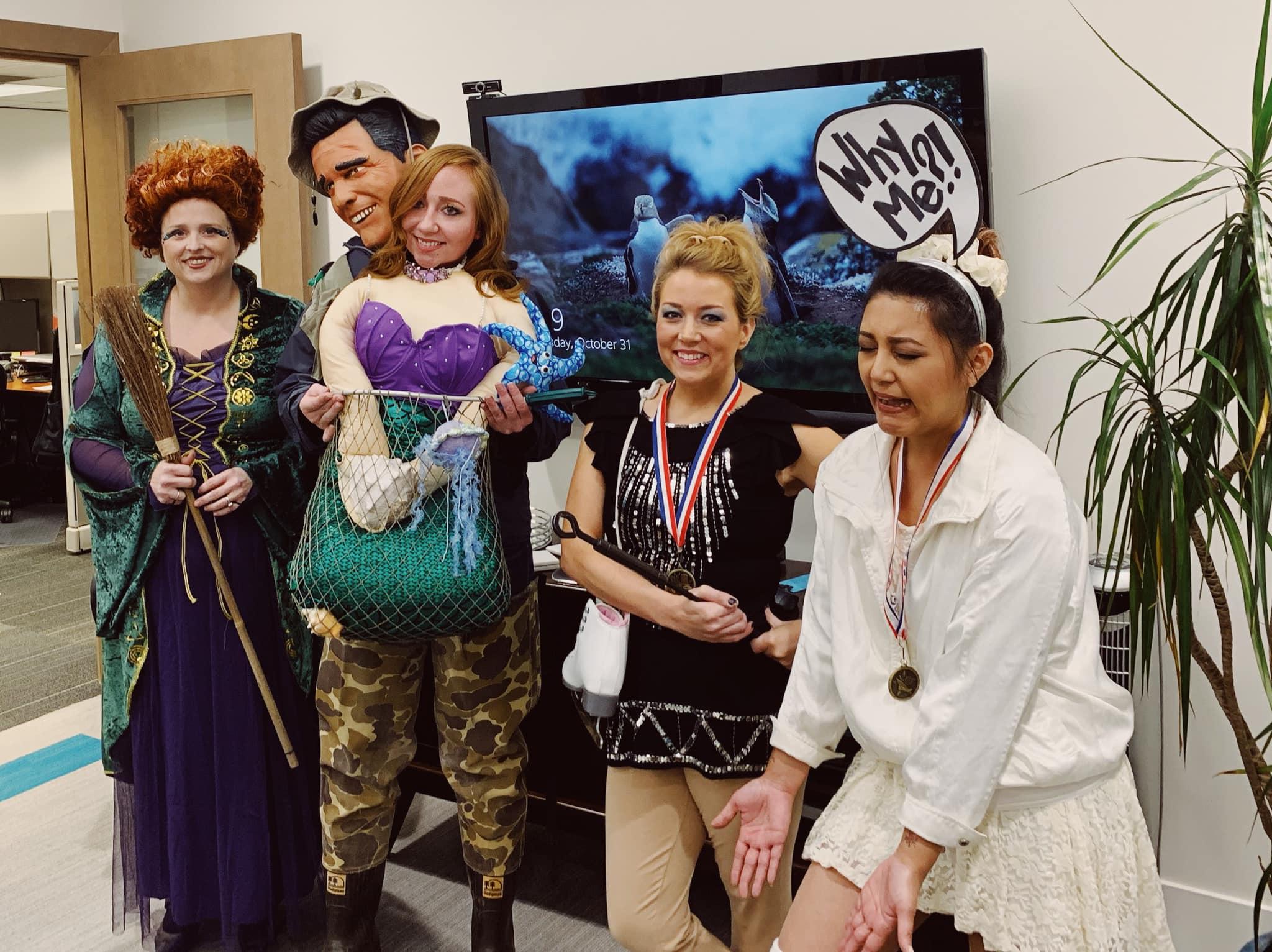 Shelley, Jenn, Sarah, & Danielle - Costume Contest finalists