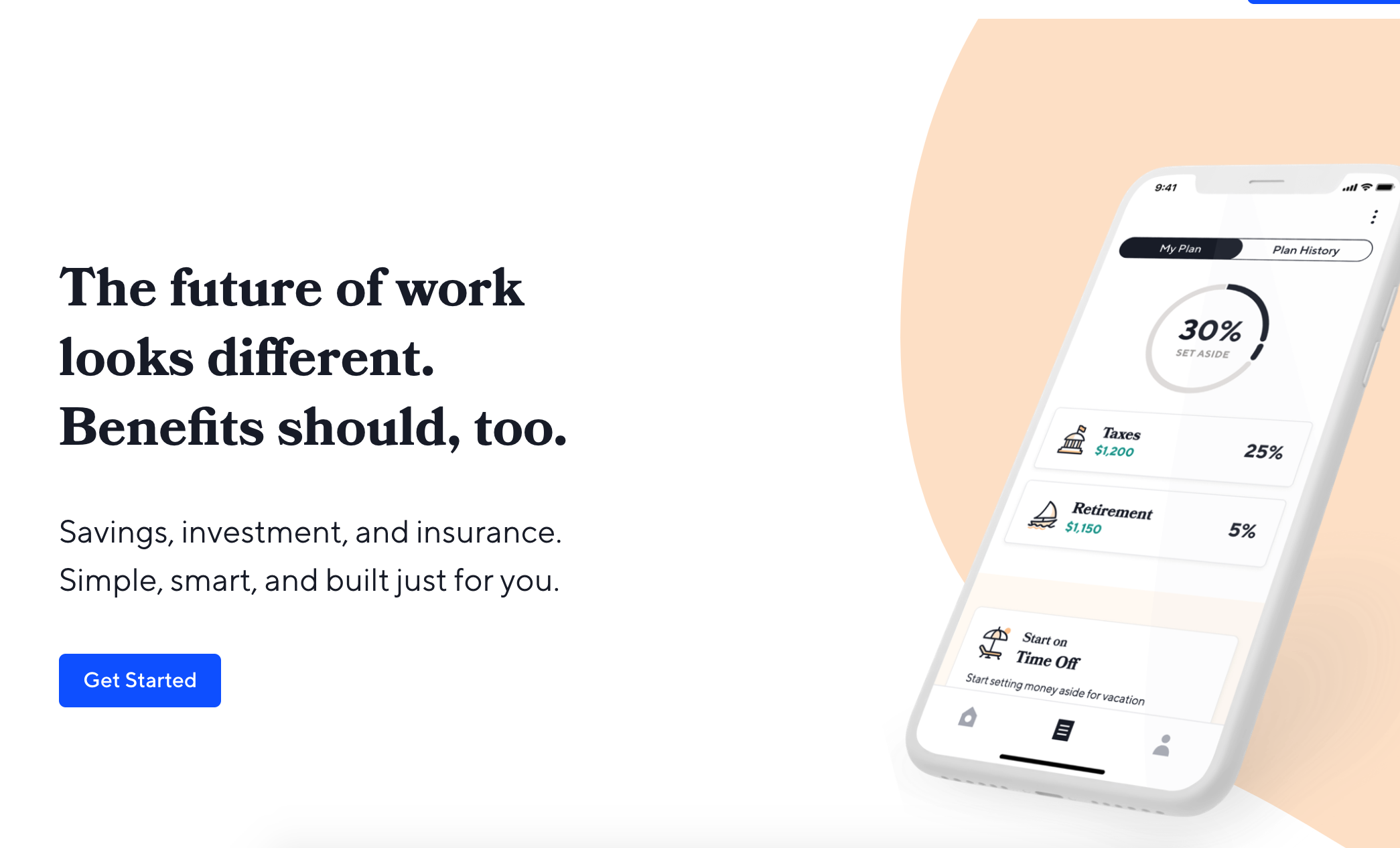 catch - For freelancers, Catch asks a few questions and suggests a plan for withholding, managing savings for Time Off, Retirement, and more.