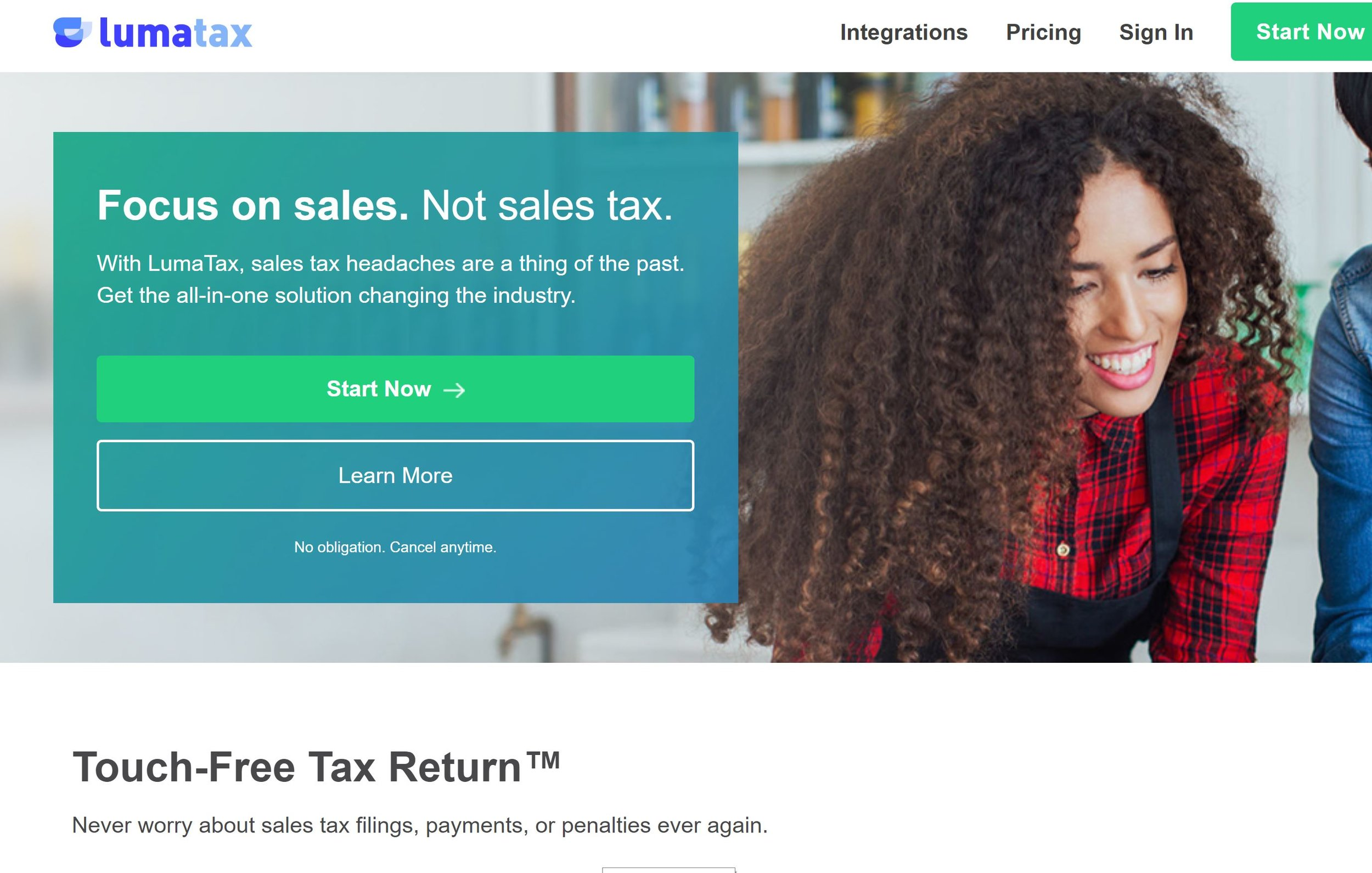 LumaTax - Sales Tax Automation for Businesses and Accountants