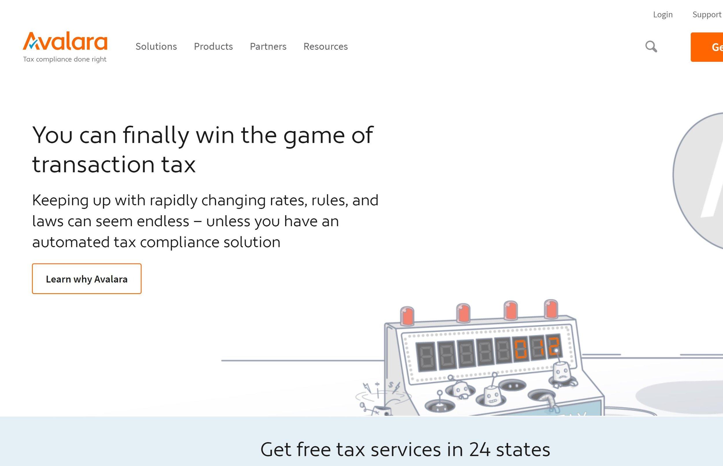 Avalara - Automated Tax Software