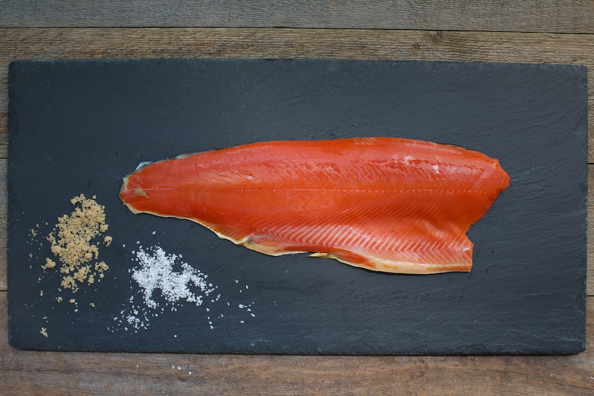 Smoked Wild Sockeye - Our Alaskan sockeye is vibrant in taste and colour.