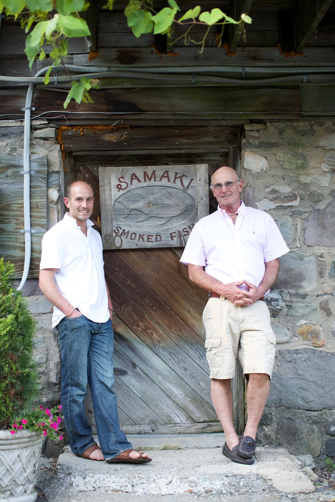 The first Samaki Inc. smokehouse in America.