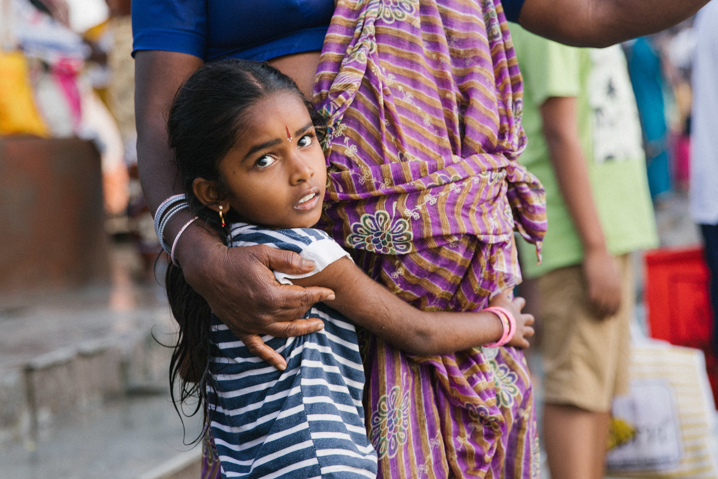 Their team was stunned to find an estimated 100,000 women and children living in slavery… - many of whom had been sold by their impoverished families from North India and Nepal.