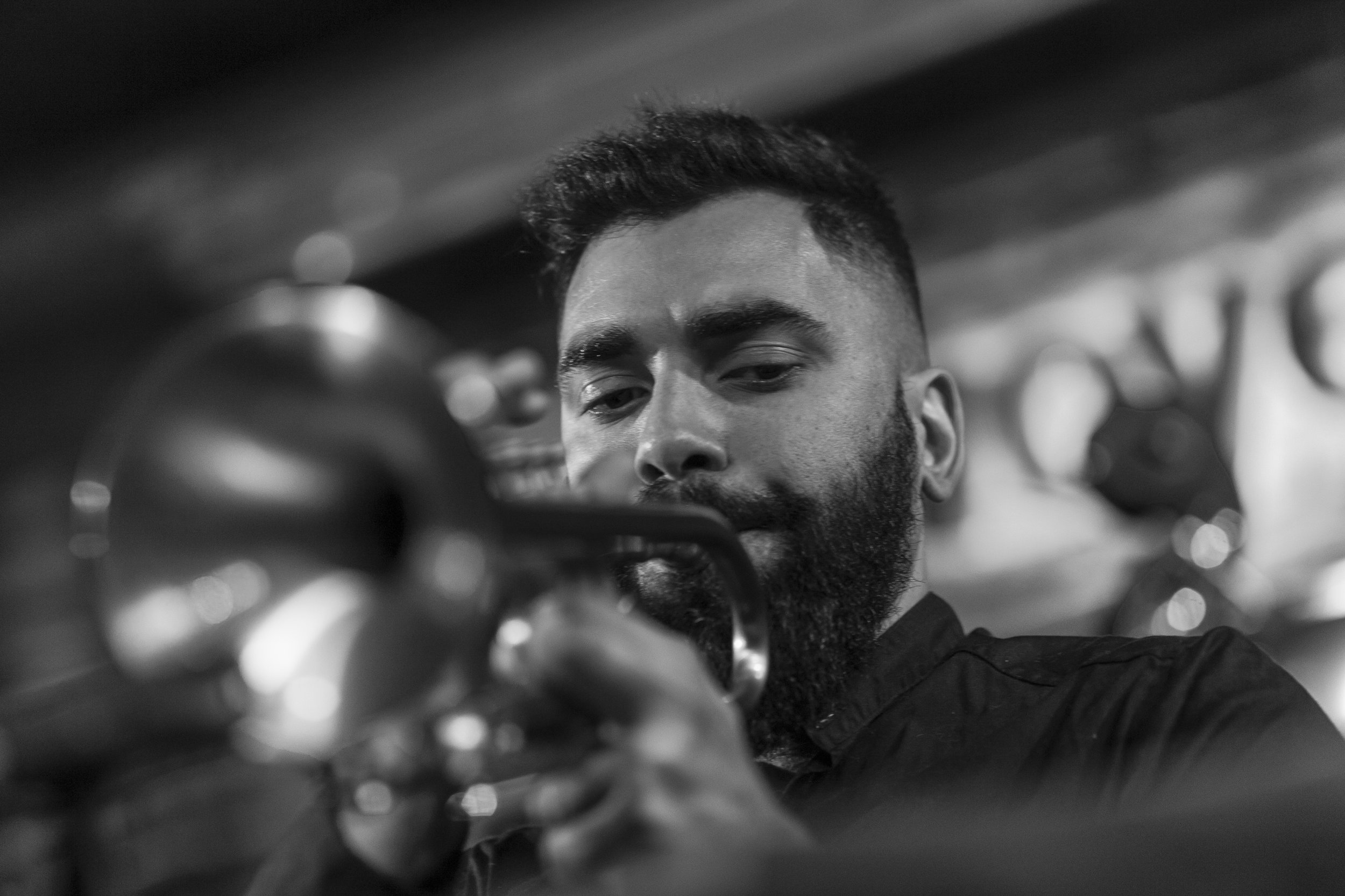 Sebastián Greschuk - Buenos Aires-based trumpeter.Debut this summer on ears&eyes Records. Inquire.