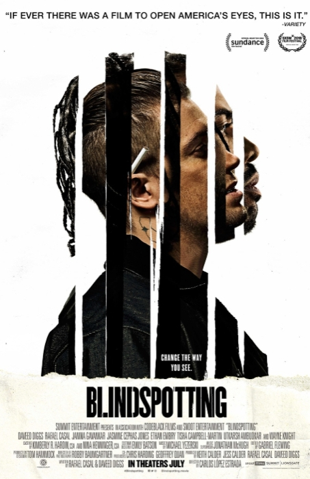 Movie poster of Blindspotting
