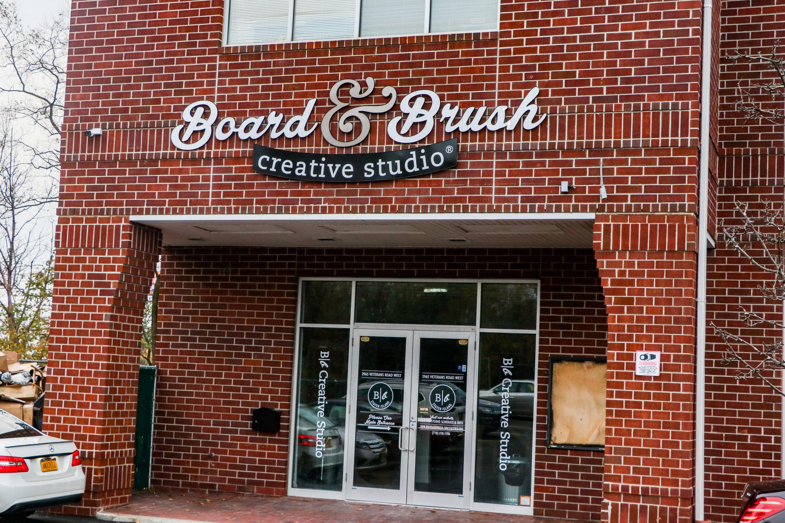 Board & Brush