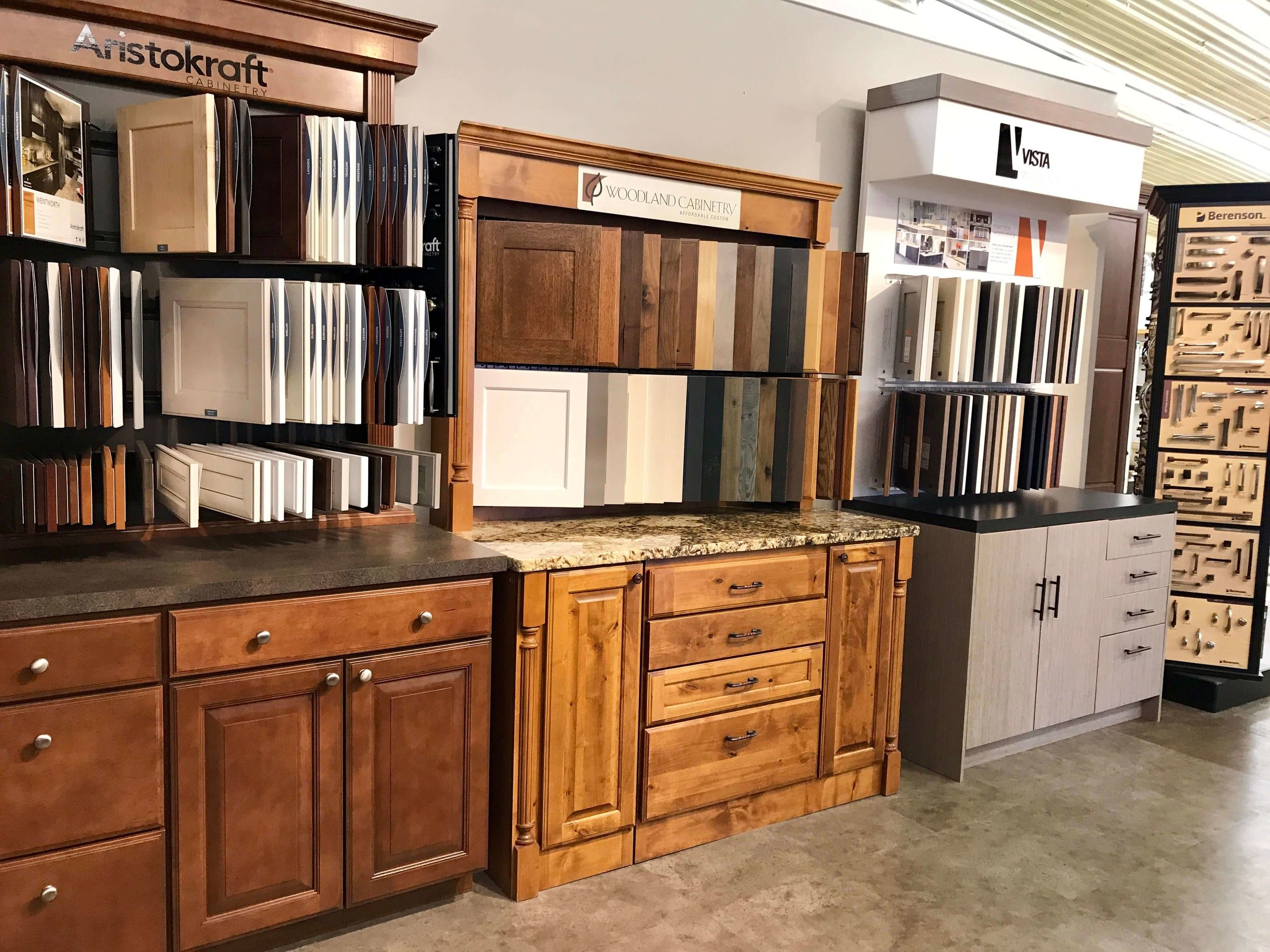 Builders FirstSource Rapid City Cabinet Displays 4.jpg