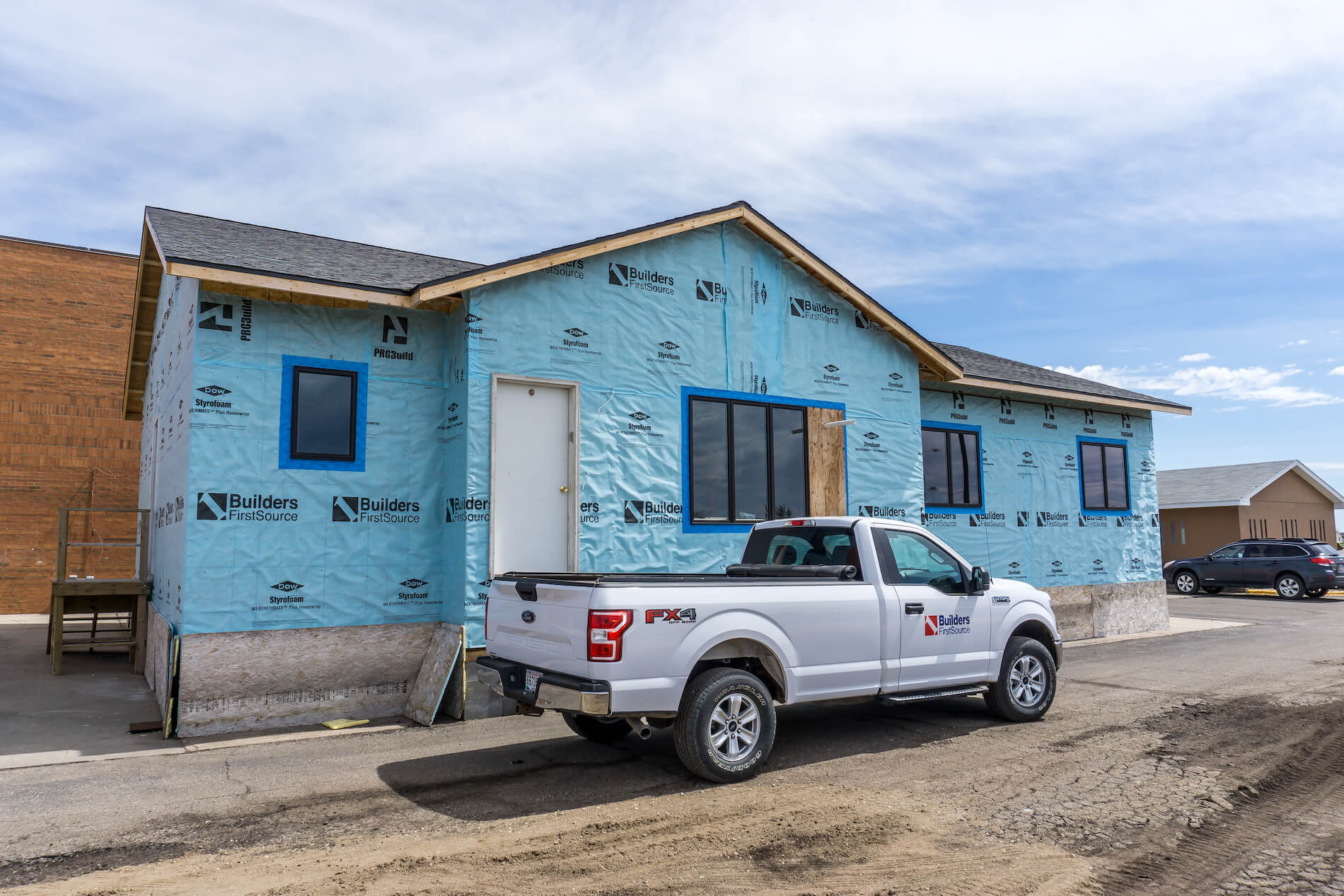 Huron High School Building Trade Home — Builders FirstSource